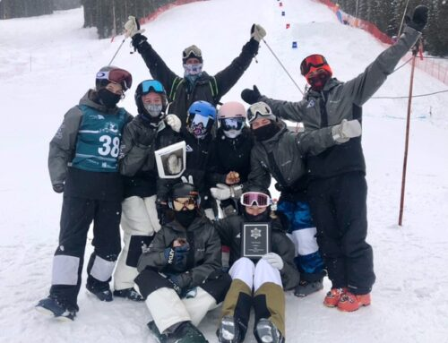 Mogul skiers soar at Rocky Mountain Freestyle Divisional Championships