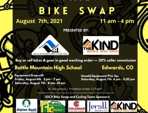 Ski & Snowboard Club Vail Announces Second Annual Vail Bike Swap